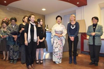 日本大使主催のレセプション