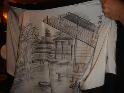 知事の羽織の裏