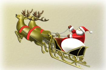サンタの回転