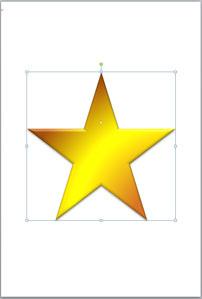 星形塗つぶし
