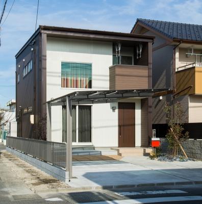 R+house M様邸 外観