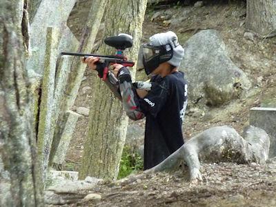 カナダ生活 バンクーバー 戦争ごっこ 11