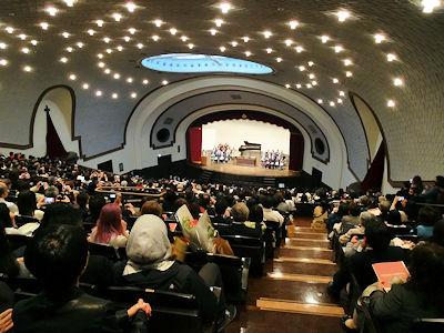 早稲田国際教養学部 卒業式 02