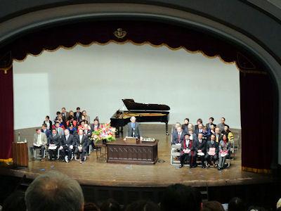 早稲田国際教養学部 卒業式 03