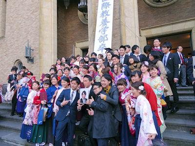 早稲田国際教養学部 卒業式 06