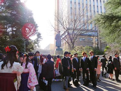早稲田国際教養学部 卒業式 07