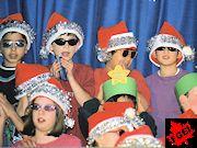 カナダの小学校 クリスマスコンサート
