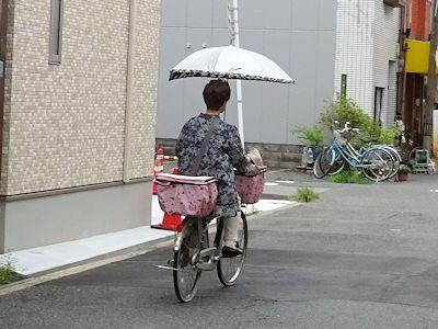 カナダにはない日本の自転車 01