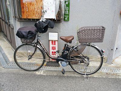 カナダにはない日本の自転車 02