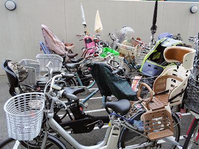 カナダにはない日本の自転車 03