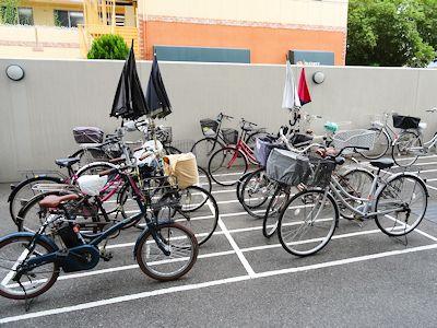 カナダにはない日本の自転車 04