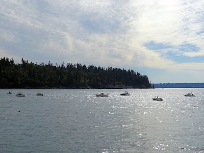 カナダでサーモン釣り 02