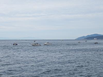 カナダでサーモン釣り 03