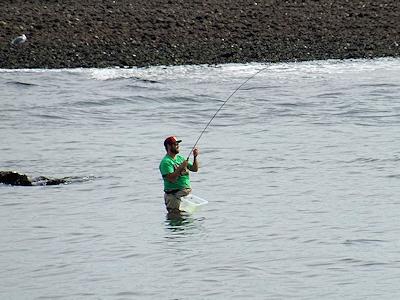 カナダ サーモン釣り 05
