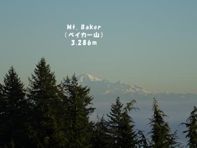 美しいベイカー山