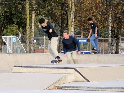 スケートボードパーク 02