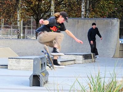 スケートボードパーク 03