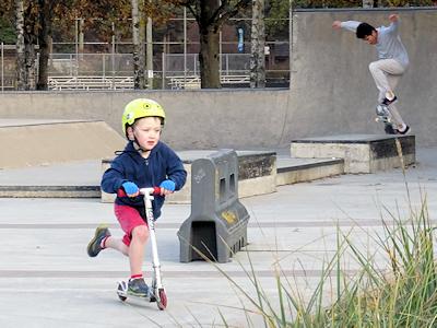 スケートボードパーク 05