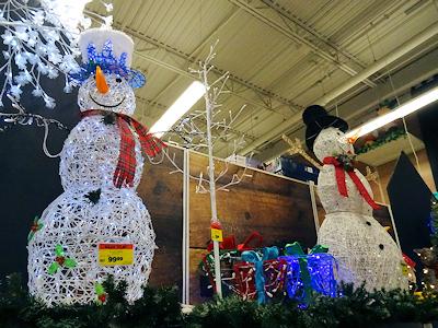 クリスマス飾り スノーマン