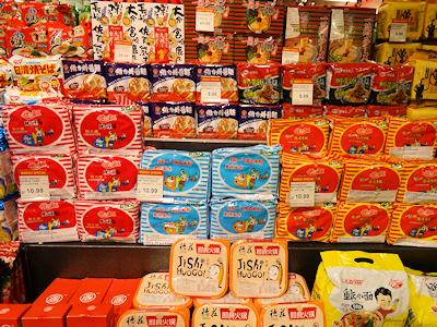中国製のラーメン