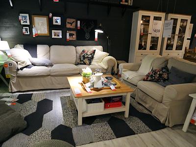 IKEA リビングルーム