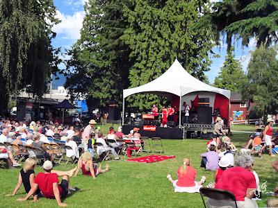 カナダの夏 野外コンサート