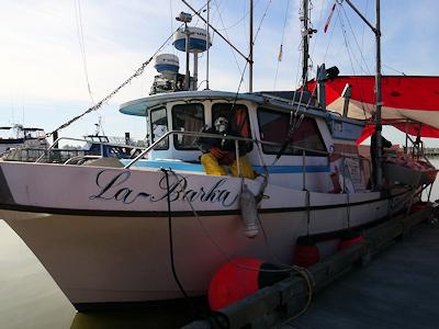 フィッシャーマンズ・ワーフ 漁船