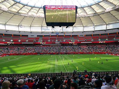 ワールドカップ サッカー 2015年バンクーバー