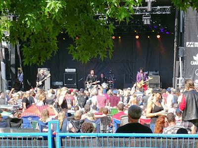 カナダ ロックコンサート