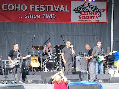 Coho Festival バンド演奏