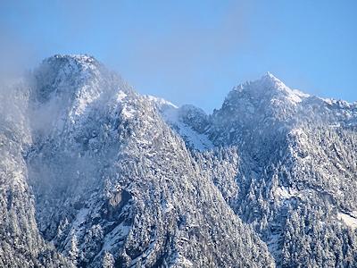 バンクーバー クラウン山