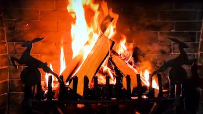 ファイヤープレース(暖炉)