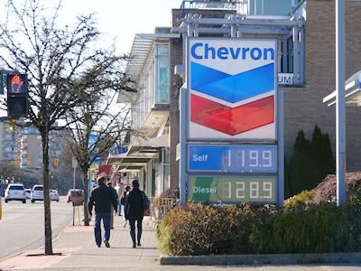 ガソリンの値段 3月15日