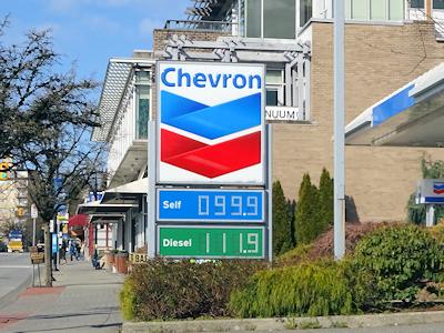ガソリンの値段 3月25日