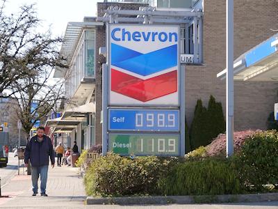 ガソリンの値段 4月5日