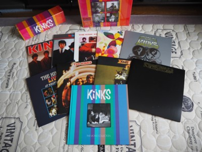 The Kinks Mono LP Box2