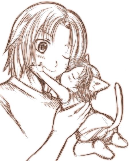 ジタンとバツ猫