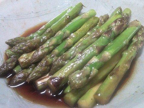 アスパラガスの炒め物