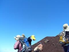 初富士登山3