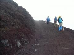 初富士登山4