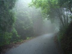 雲の中の五井山5