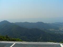 晴れの五井山からの景色