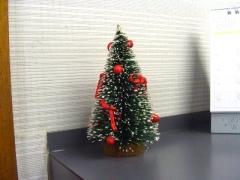 受付クリスマスツリー