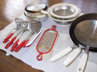 ベルメゾンの鍋セット