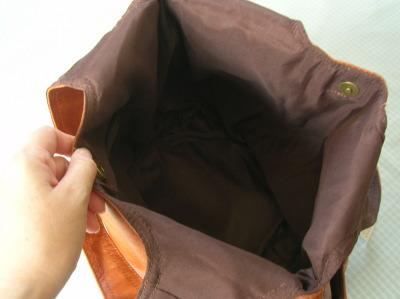 キルティングバルーンバッグ