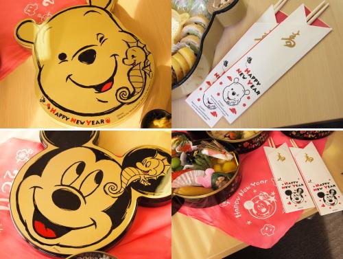 ディズニーおせち2012