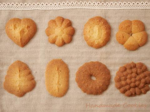 絞り出し手作りクッキー