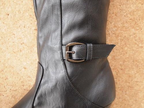 伸び伸びフィット美脚ブーツ