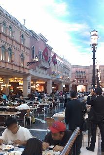 macau venetian shopping street