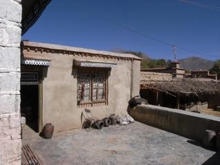 チベット 民家